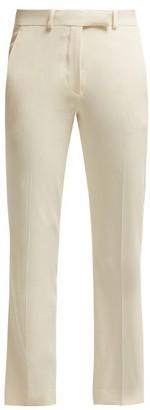 Etro Violante Straight Leg Cady Trousers - Womens - Ivory