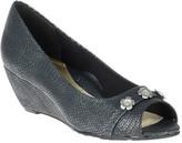 SoftStyle Women's Soft Style Adley Peep Toe Wedge