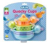 Alex Jr. Tub Joy Quacky Cups Bath Toy