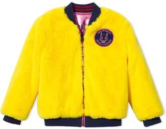 The Marc Jacobs Kids Reversible Faux Fur Bomber Jacket