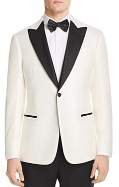 Giorgio Armani Emporio Satin-Lapel Regular Fit Tuxedo Jacket