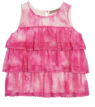 Ermanno Scervino Lace Ruffle Top (4-16 Years)