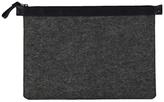 Grey Wool Felt Laptop Case