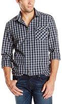 Kenneth Cole New York Kenneth Cole Men's Long Sleeve Heather Shirt