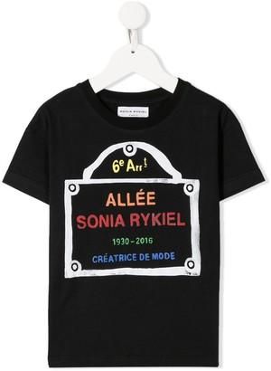Sonia Rykiel ENFANT logo print T-shirt