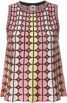 M Missoni geometric print tank top