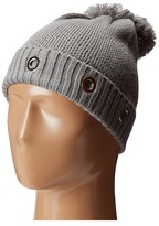Steve Madden Solid Grommet Cuff Hat