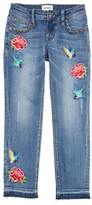 Hudson Girl's Freebird Girlfriend Jeans