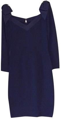 St. John Black Wool Dress for Women Vintage