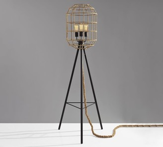 Pottery Barn Leon Tripod Floor Lamp