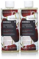 Korres Vanilla Cherry Shower Gel Duo