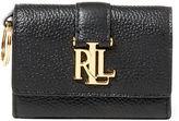 Ralph Lauren Leather Commuter Wallet
