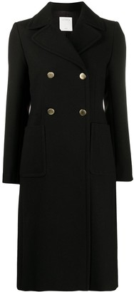 Sandro Double-Breasted Tailored Coat