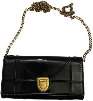 Christian Dior Diorama Black Patent leather Clutch bags