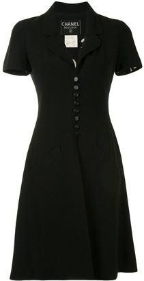 Chanel Pre Owned 1997 Button-Up Dress