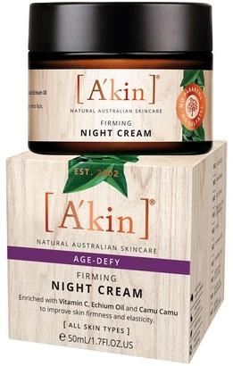 Akin A'Kin Age Defy Firming Night Cream 50Ml