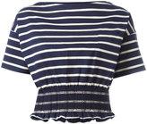 Moncler elasticated waist T-shirt