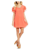 GB Ruffle Sleeve Dress
