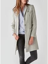 Great Plains Nipper Wool Blend Coat, Oyster