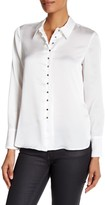 Laundry by Shelli Segal Button Up Blouse with Wide Cuff