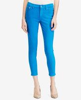 Lauren Ralph Lauren Petite Superstretch Skinny-Fit Cropped Jeans