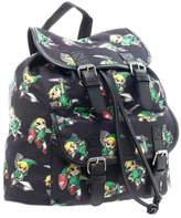 Bioworld Nintendo The Legend of Zelda Sublimated Knapsack Backpack School Book Bag