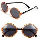 A. J. Morgan A.J. Morgan 52mm Retro Round Sunglasses