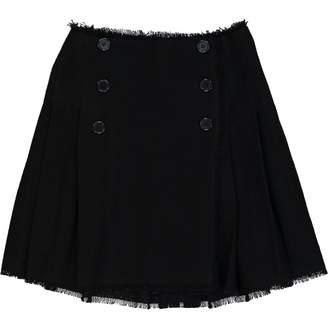 Meadham Kirchhoff Black Wool Skirts
