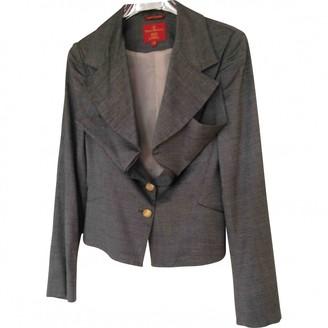 Vivienne Westwood Anthracite Viscose Jackets