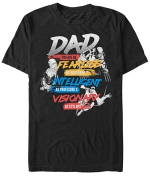 Marvel Men's Comic Collection Dad You Are An X-Men Short Sleeve T-Shirt