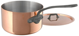 Mauviel 2QT. Stainless Steel Saucepan