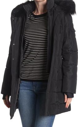 Nautica Faux Fur Hood Parka Jacket