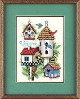 Dimensions Mini Cntd Cross Stitch Kit-Bird House