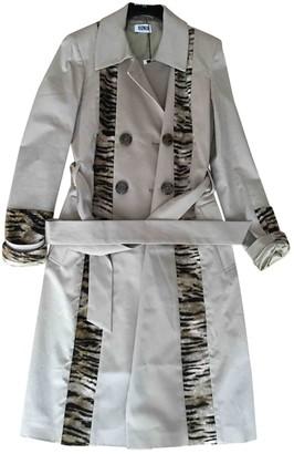 Sonia Rykiel Sonia By Beige Cotton Trench Coat for Women