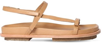 Mari Giudicelli 15mm Leather Flat Sandals