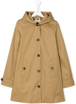 Burberry hooded jacket - kids - Cotton/Cupro - 14 yrs