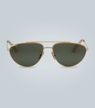 Celine Double-bar metal sunglasses