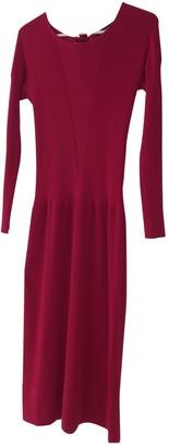 Sonia Rykiel Pink Wool Dresses