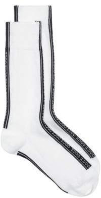 HUGO Regular-length socks with reverse-logo tape