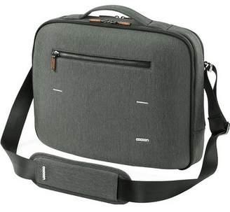 "Cocoon Carrying Case (Briefcase) for 13"" MacBook Pro - Graphite - Water Resistant - Wood Zipper, Ballistic Nylon Zipper - Shoulder Strap, Handle"