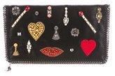 Stella McCartney Embellished Falabella Clutch