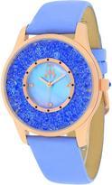 Jivago JV3418 Women's Brillance Lavender Leather Watch