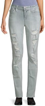 True Religion Skinny Distressed Jeans