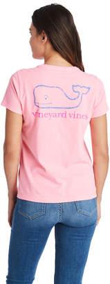 Vineyard Vines Garment-Dyed Vintage Whale Pocket Tee