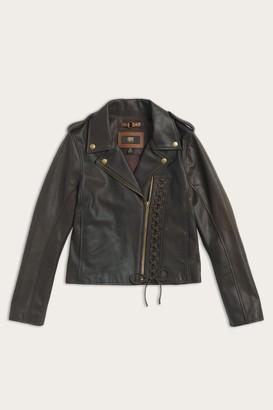 The Frye Company Stitch Biker Jacket