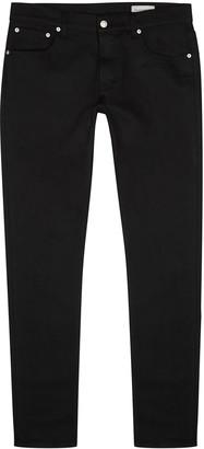 Alexander McQueen Black slim-leg jeans