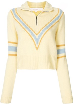 By Any Other Name Chevron Print Jumper
