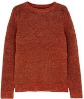 Folk Rust Wool Blend Jumper