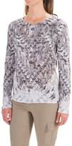 Prana Ravena Burnout Shirt - Organic Cotton, Long Sleeve (For Women)