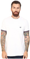 Fred Perry Bomber Stripe Cuff T-Shirt